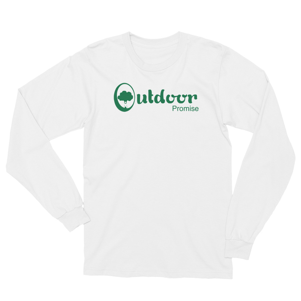 dd309a26 Unisex Long Sleeve T-Shirt - Outdoor Promise | Learn Outside a Box